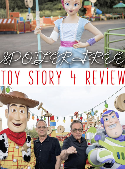 Toy Story 4 SPOILER FREE Review!