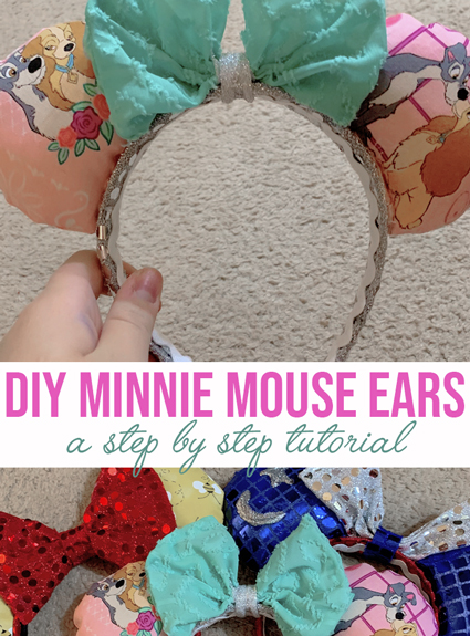 DIY Minnie Mouse Ears
