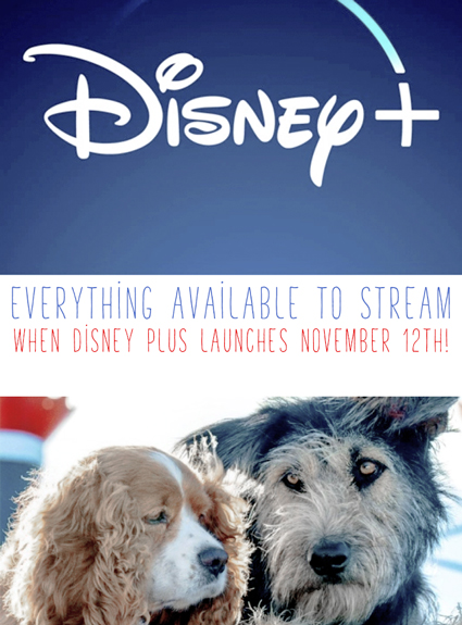 Everything That Will Be Ready to Stream When Disney Plus Launches