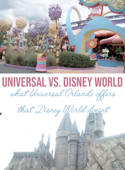 Universal Orlando Vs. Walt Disney World
