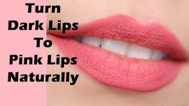 lighten dark lips