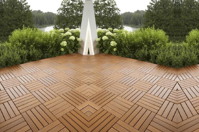 suelo de jardin