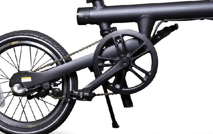 Bateria y motor de la bicicleta eléctrica Xiaomi Qicycle
