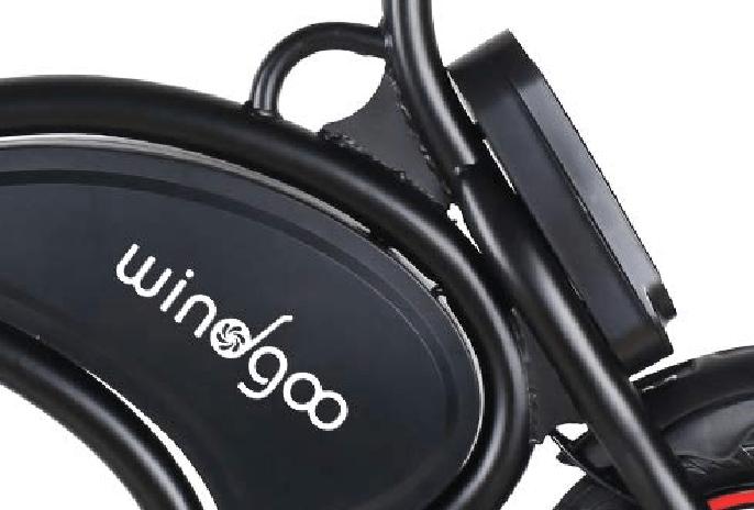Bateria de la bicicleta electrica plegable Windgoo