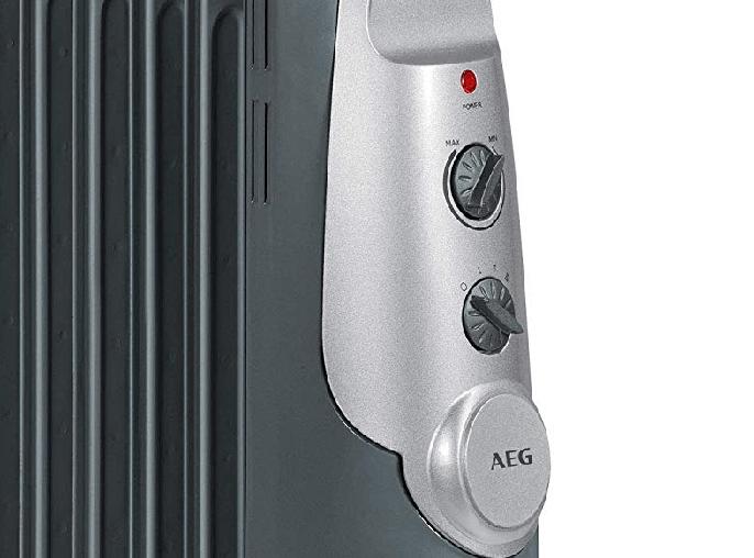 Controles del radiador de aceite AEG RA 5522