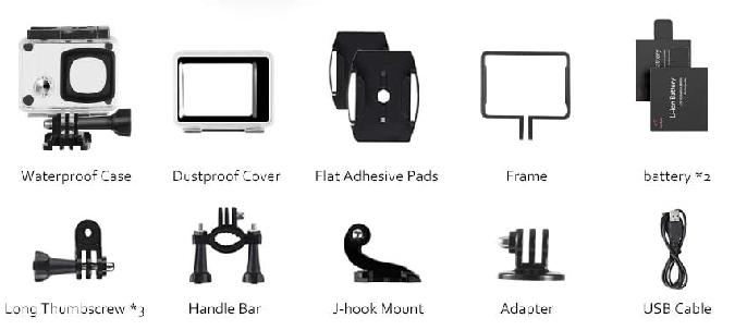 Análisis de la cámara deportiva Victure AC900