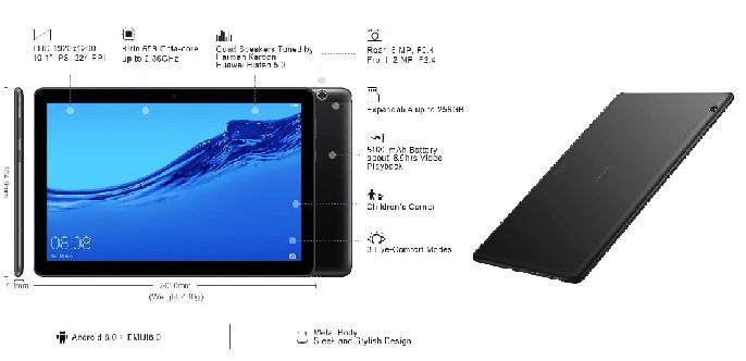 Ventajas de la tablet Huawei MediaPad T5