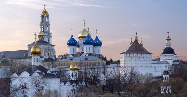 Trinity Lavra of St. Sergius in Russia