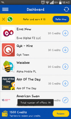 Cash On Apps