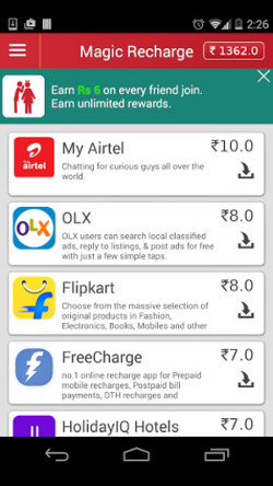 Top 10 Free Recharge Apps for Android - ListAmaze