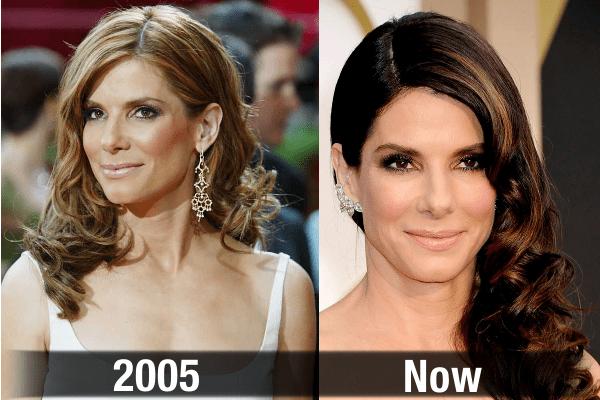 Sandra Bullock Never Aging