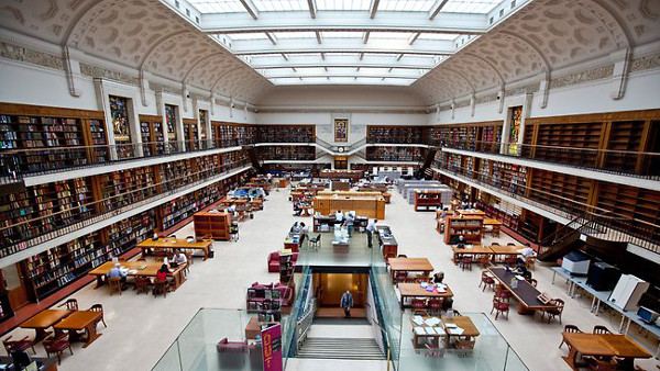 State Library of New South Wales-Australia-Beautiful-Library-Interior