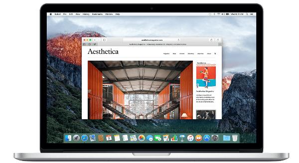 Apple Safari Web Browser
