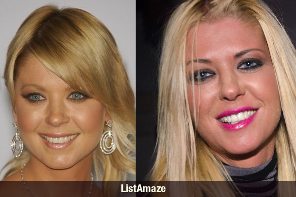 Tara Reid Before and After Drugs