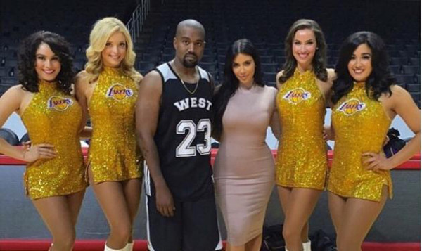 Kim Kardashian is Short and Enjoys company of Tall Girls