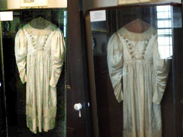 Anna Baker Haunted Wedding Dress