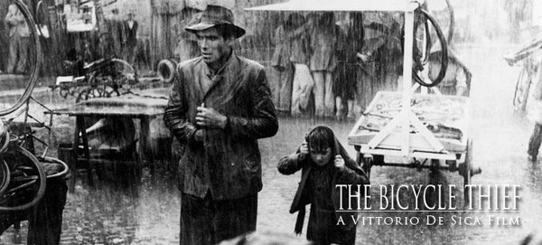 Bicycle Thieves Film from Italy
