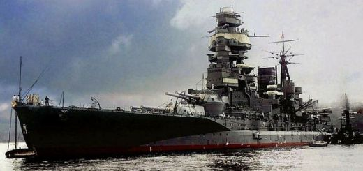 Japanese Navy Battleship