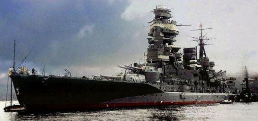 Japanese Navy Battleship