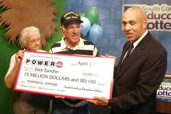 Richard Sandlin Lottery Winner