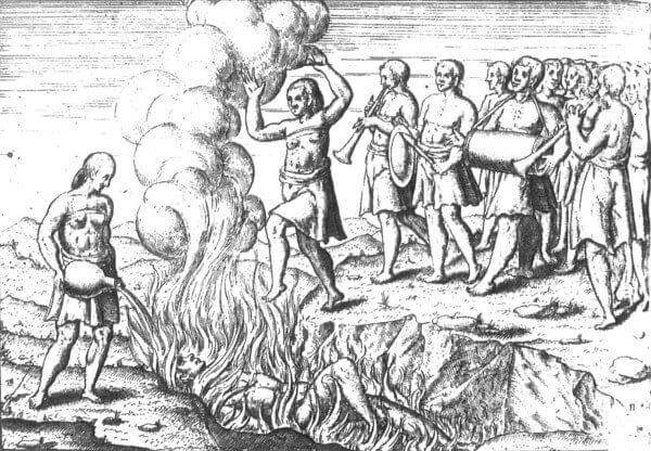 Sati or Self Immolation