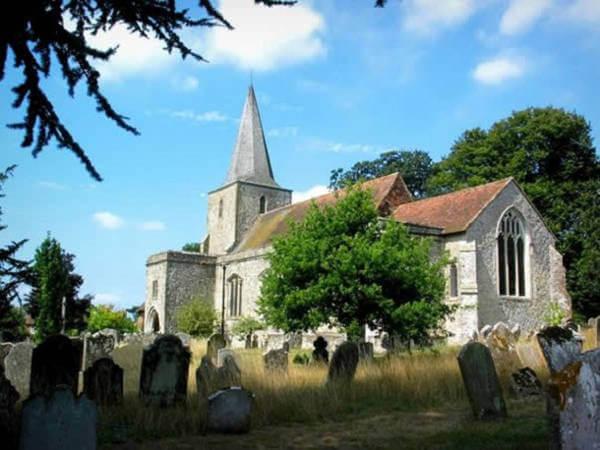 Village Pluckley in England