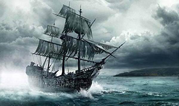 Caleuche ghost ship