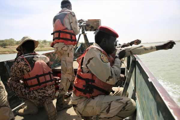 Chad And Niger Border