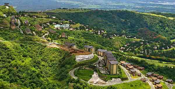 Tagaytay City in Philippines
