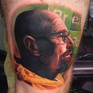 Walter White Tattoo