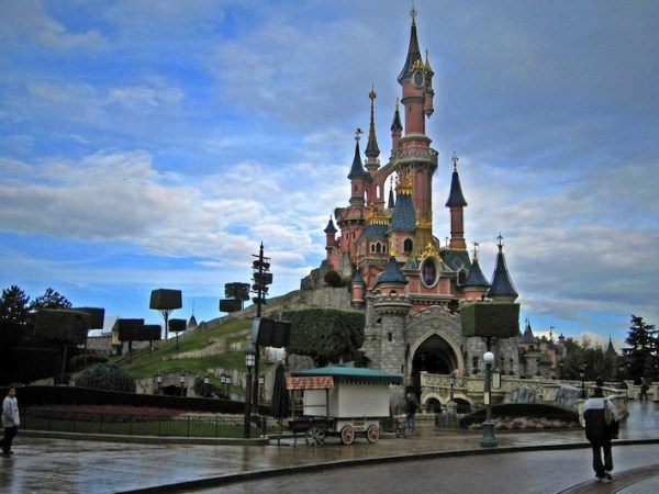 castle disneyland paris