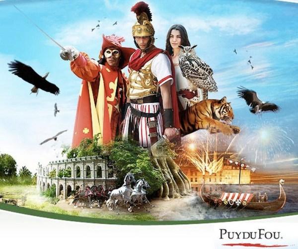 Grand Puy Du Fou Amusement Park, France