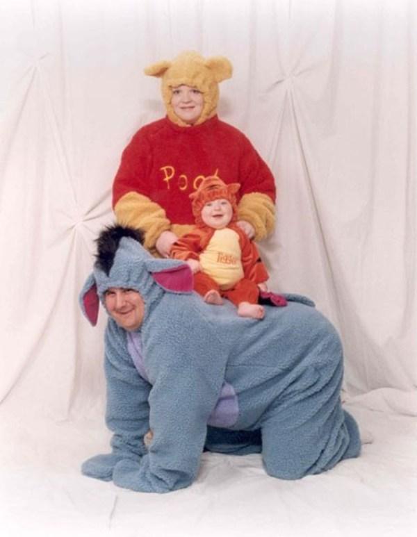 Awkward Winnie The Pooh family Pihoto