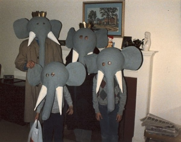 awkward elephant family Picture