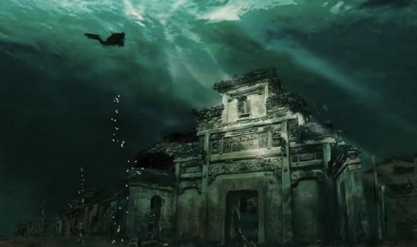 Shi Cheng underwater city