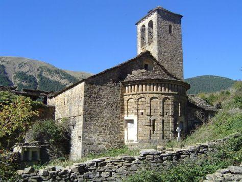 Iglesia de San Miguel de Otal - Lista Roja del Patrimonio