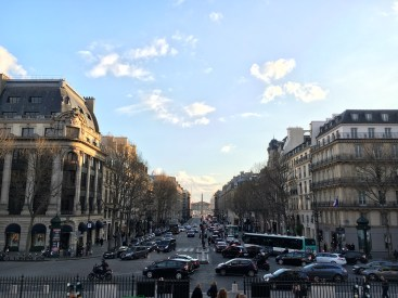 Vista da Église de la Madeleine - Rue Royale