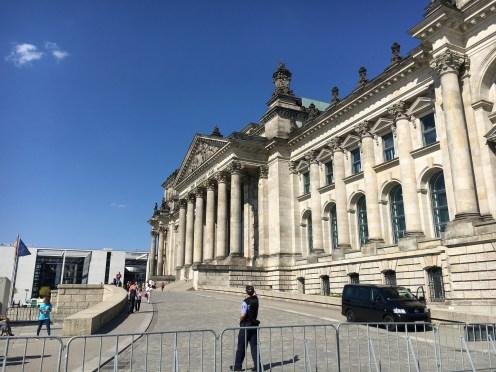 Prédio do Parlamento Alemão
