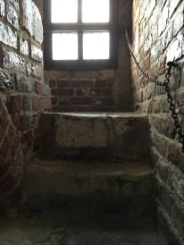Escadaria da Torre da antiga Prefeitura