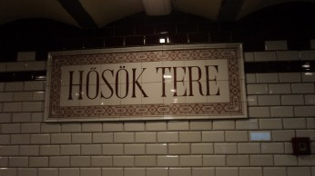 Metrô de Budapeste - um dos mais antigos do mundo
