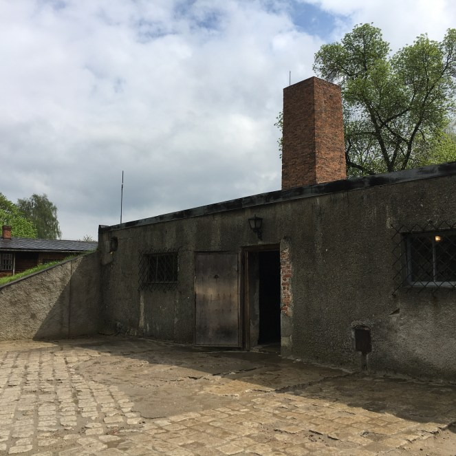 Auschwitz I - câmara de gás/ crematório