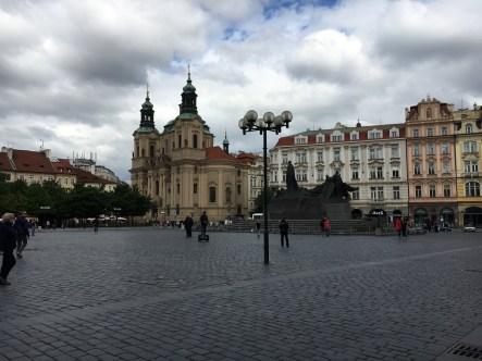 Praça da Cidade Antiga - ao fundo Igreja São Nicolau