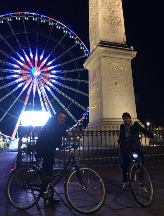Passeio noturno de bike - Foto: Juliano Frassetto