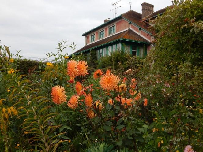 Jardins da casa de Monet em Giverny