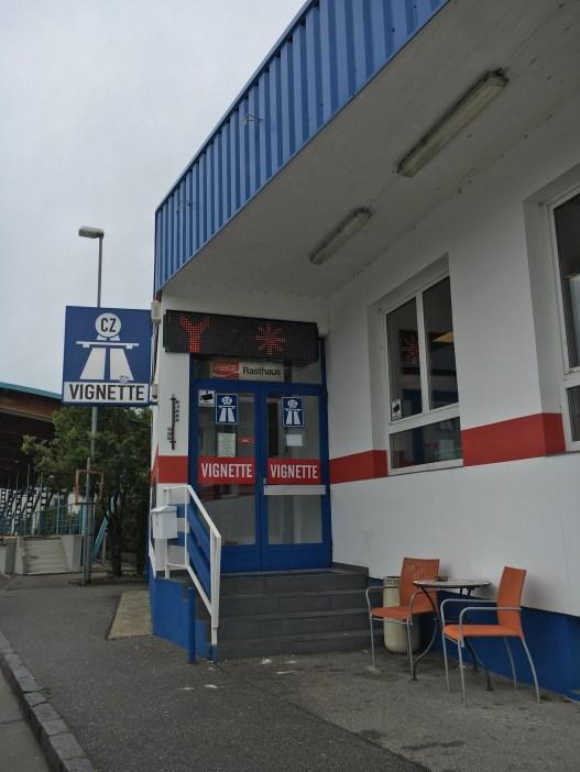 Local onde comprar vignette nas fronteiras