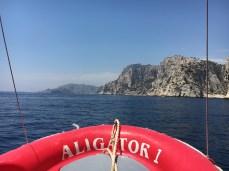Aligator...nosso barquinho por algumas horas