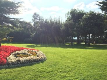 Jardim inglês da Casa Dior