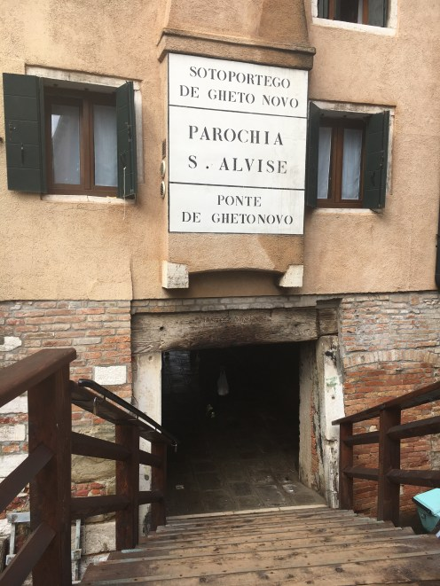Gueto judaico no norte de Veneza