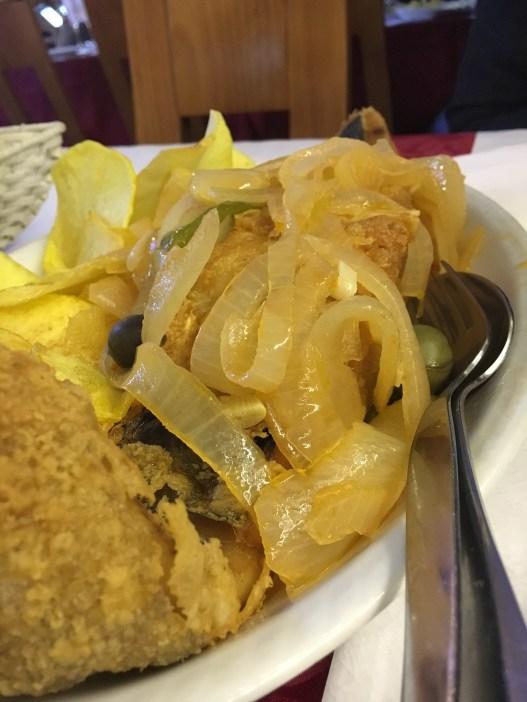 Bacalhau no Restaurante Maria Rita