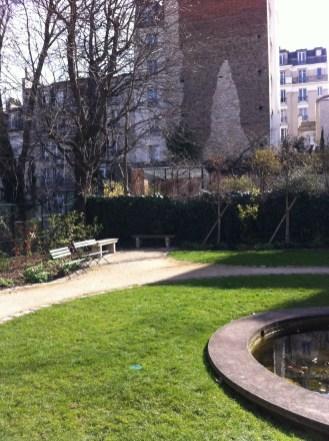 Jardim do Musée de Montmartre